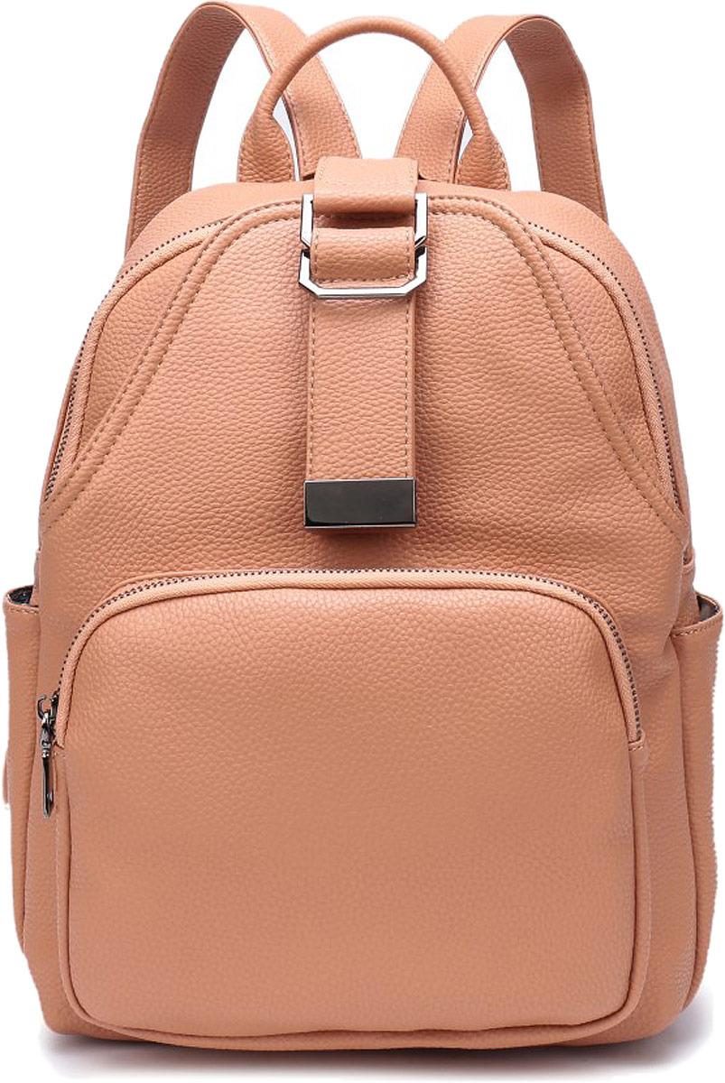 Рюкзак женский OrsOro, цвет: бежевый. DW-800/3