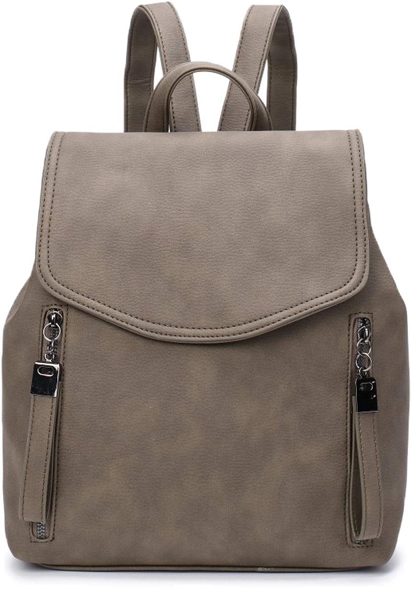 Рюкзак женский OrsOro, цвет: оливковый. DW-816/3