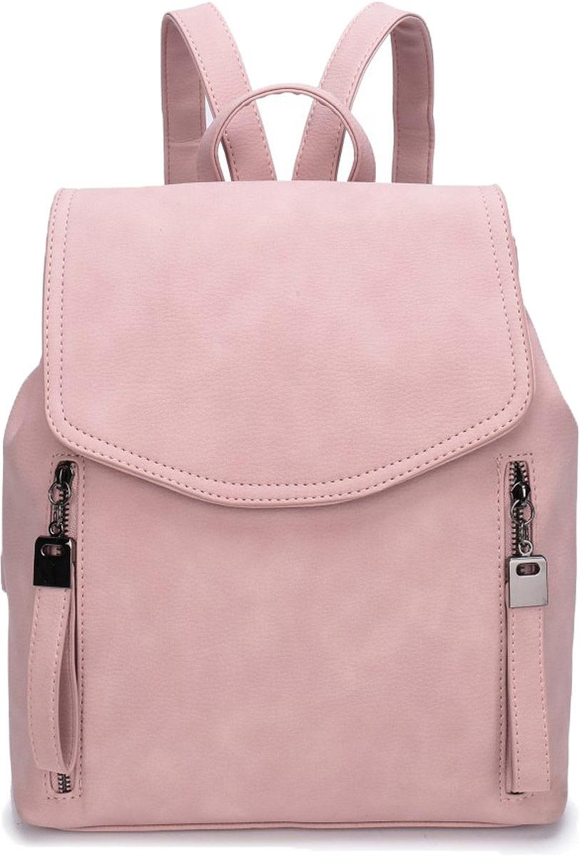 Рюкзак женский OrsOro, цвет: палево-розовый. DW-816/4
