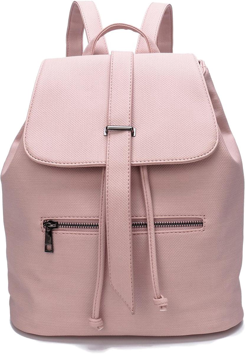 Рюкзак женский OrsOro, цвет: розовый беж. DW-815/4