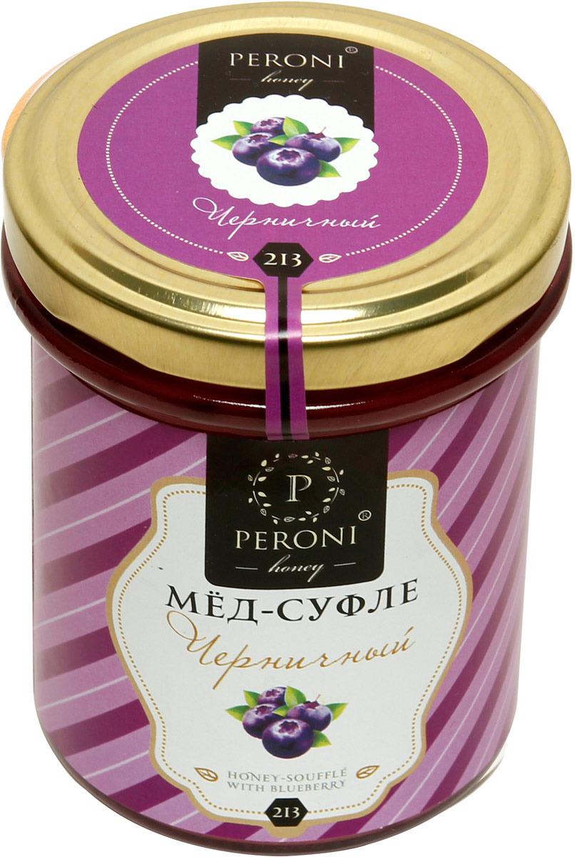 Мед-суфле Peroni Honey черничный Twist, 220 г мед суфле амаретто с кокосом 83 250 мл peroni honey