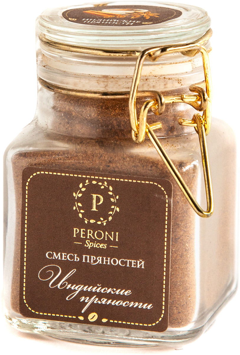 Смесь пряностей для кофе и чая Peroni Индийские пряности, 50 г компас здоровья корица молотая 60 г