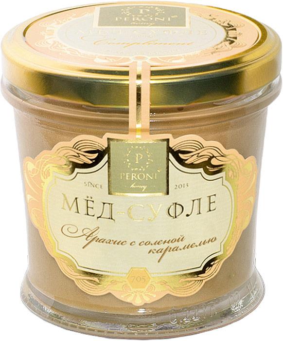 Мед-суфле Peroni Honey соленая карамель, 250 г sula лимон и мед леденцы 18 г