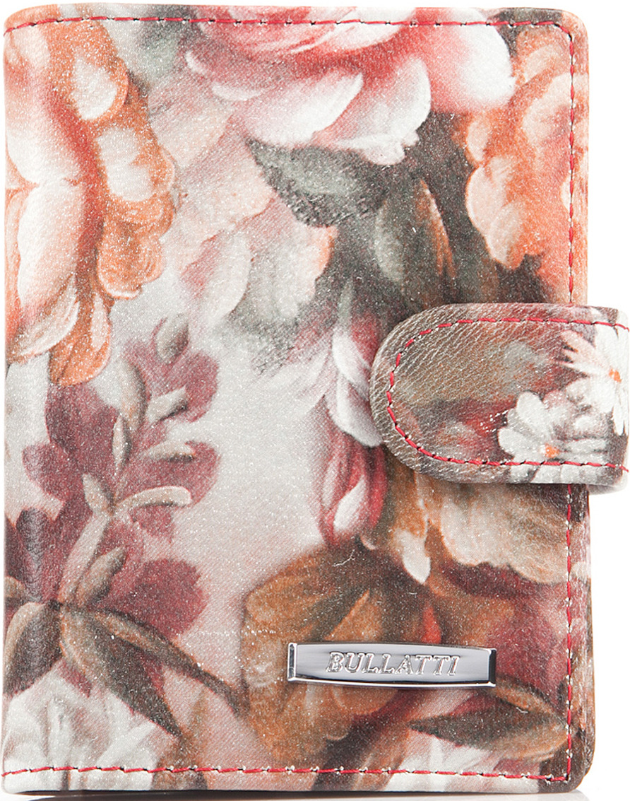 Визитница женская Bullatti, цвет: розовый. 2107L-F51 обложка для паспорта женская bullatti цвет фиолетовый 12182 purple