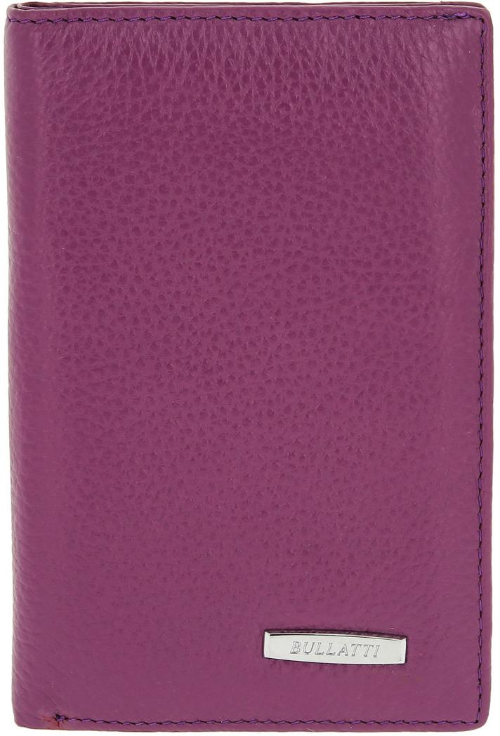 Обложка для паспорта женская Bullatti, цвет: фиолетовый. 12182 PURPLE обложка для паспорта женская labbra цвет фиолетовый l054 0011