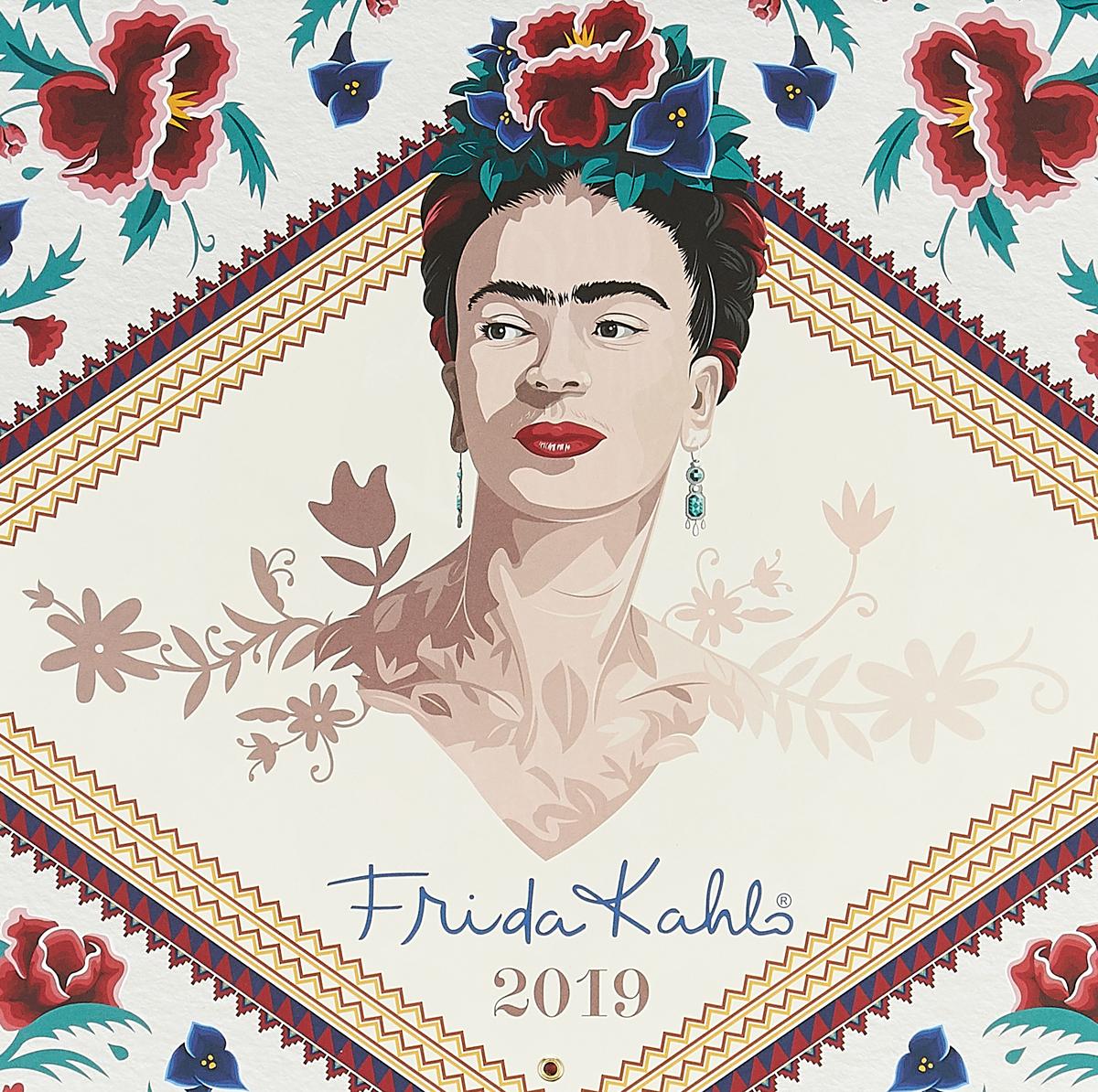 Фрида Кало. Календарь настенный на 2019 год (Арте) фигурная магнитная закладка фрида кало зелёная арте