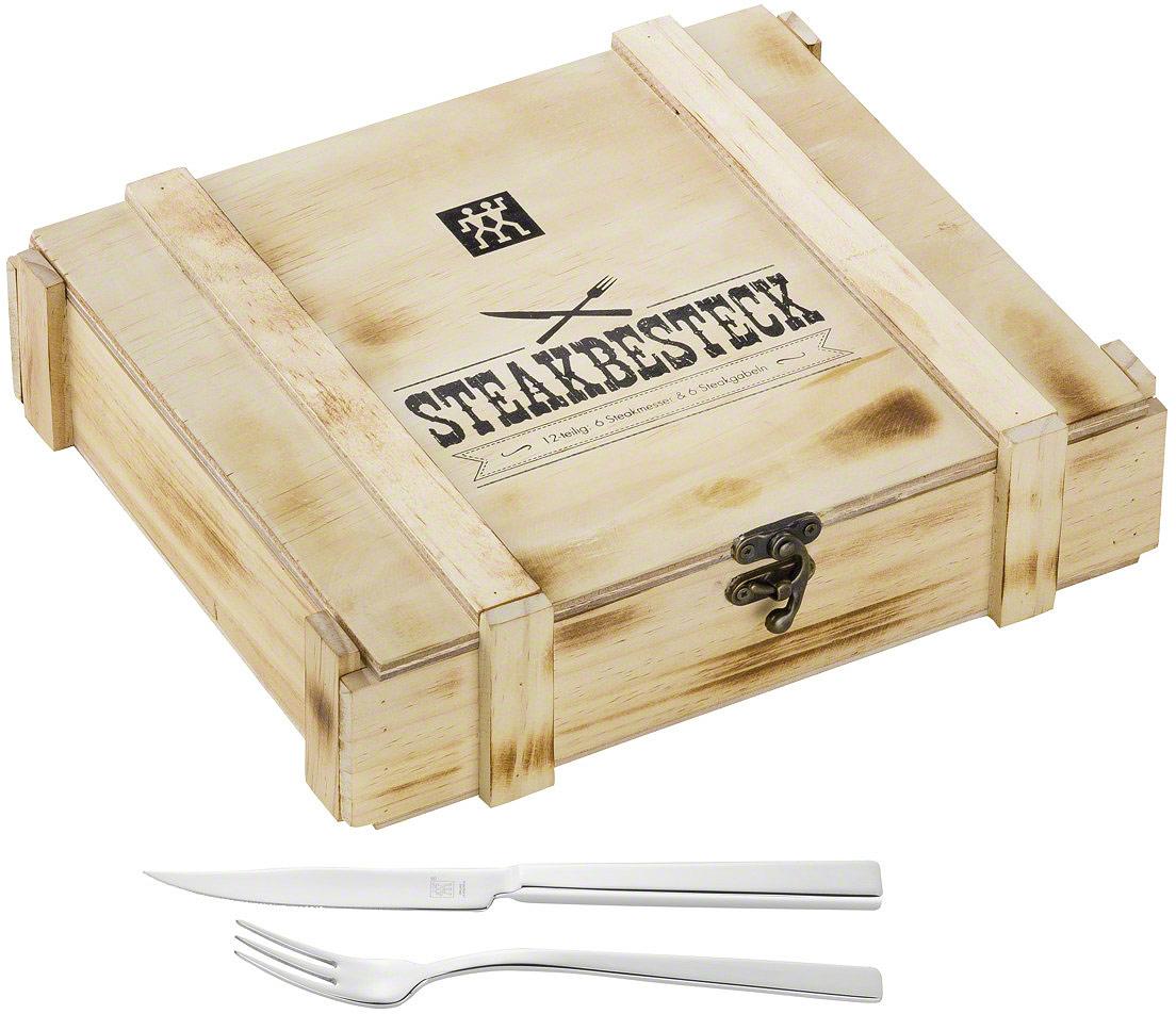 Набор стейковый Zwilling Steak, 12 предметов скейты quicksilver отзывы