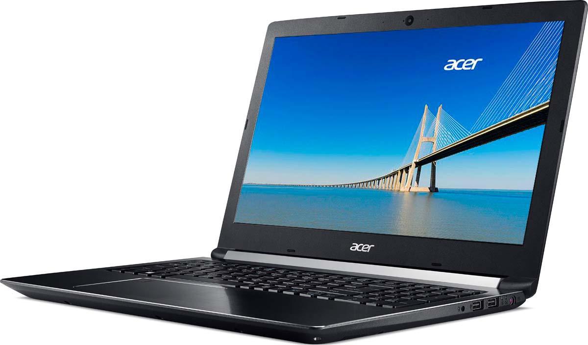 купить Ноутбук Acer Aspire 7 A715-71G-77GU, Black по цене 60900 рублей