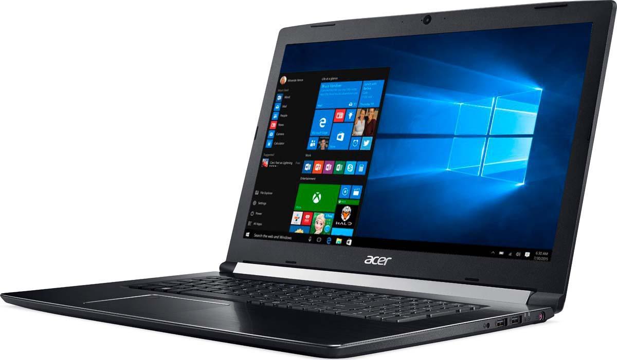 купить Ноутбук Acer Aspire 7 A717-71G-58HK, Black по цене 69900 рублей
