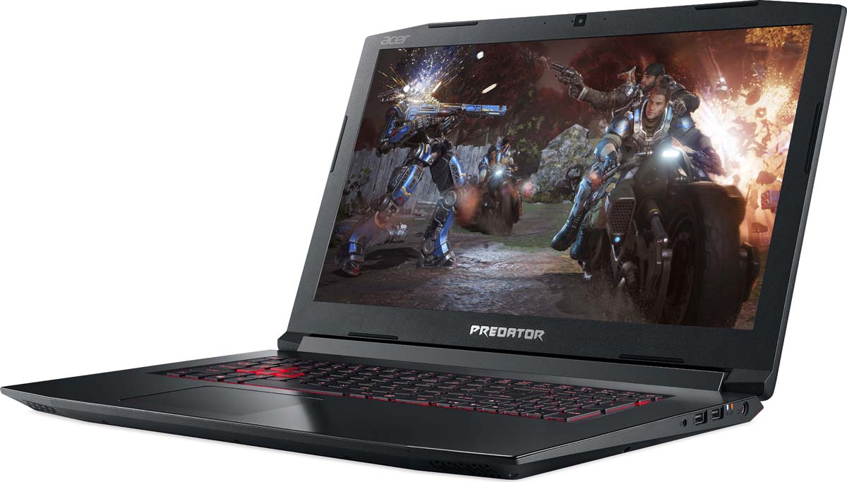 Ноутбук Acer Helios 300 PH317-52-56NV, Black no spots black