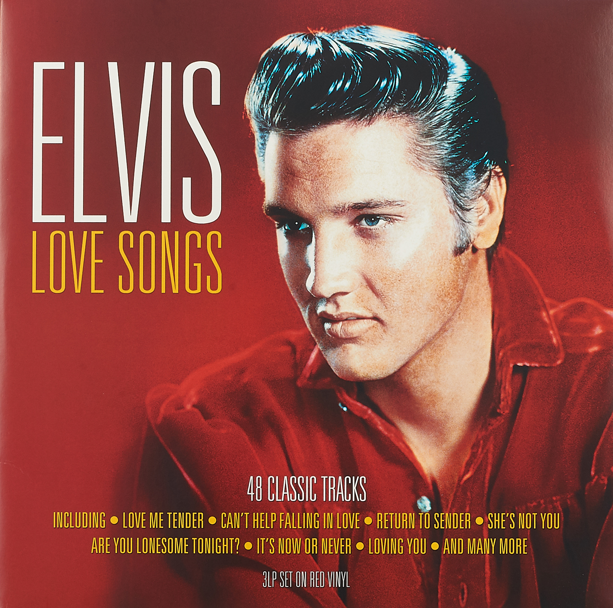 Элвис Пресли Elvis Presley. Love Songs (3 LP) not now bernard