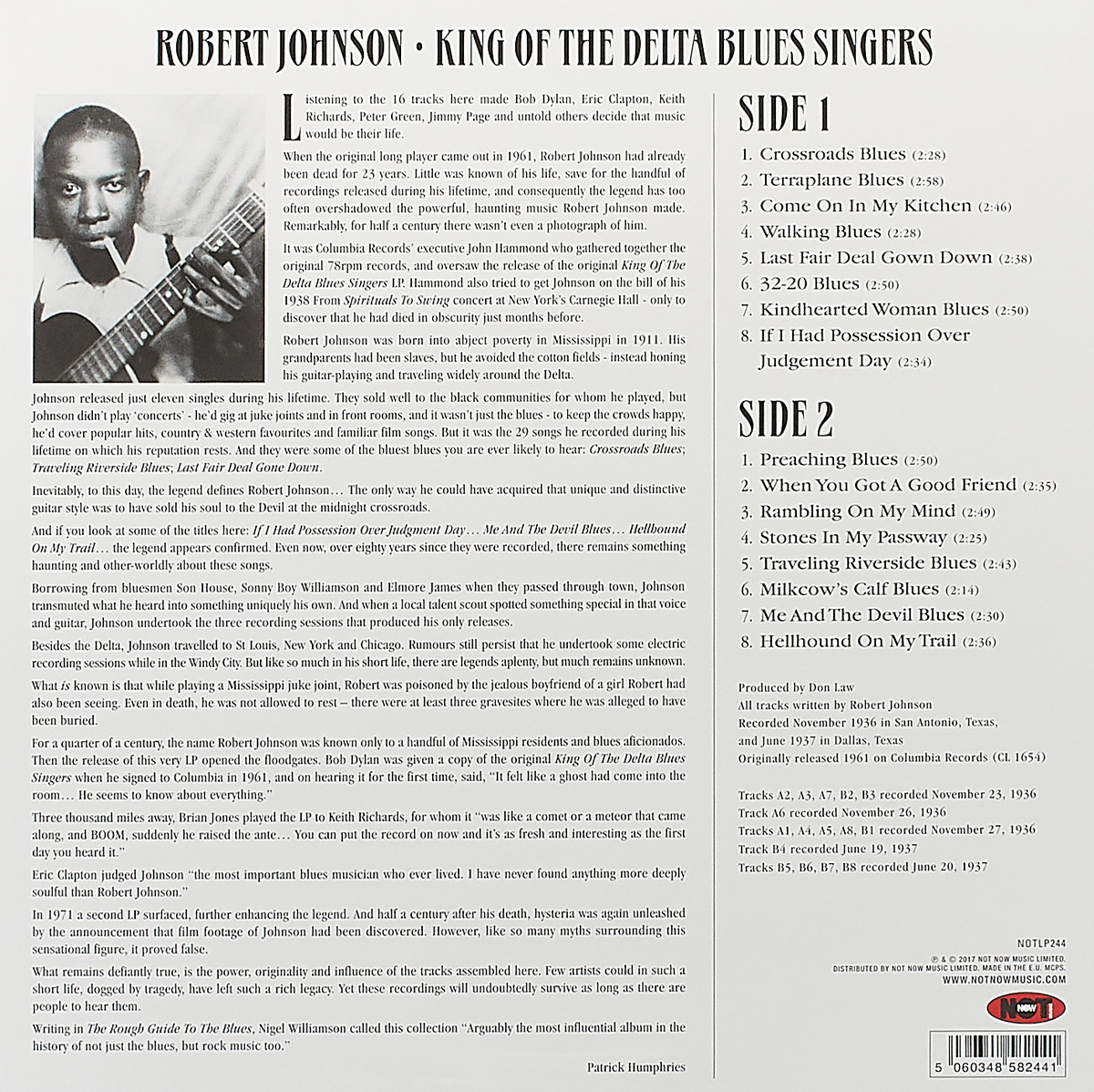 robert johnson the king of the delta blues singers Free essay: king of the delta blues singers: robert johnson the life of robert johnson, one of the most influential early blues artists, in shrouded by vague.