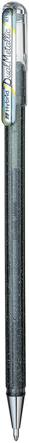 Гелевая ручка Pentel Hybrid Dual Metallic, стержень 1,0 мм, цвет чернил: серебристый 2pm 4th album vol 4 go crazy booklet 52p release date 2014 09 16 kpop