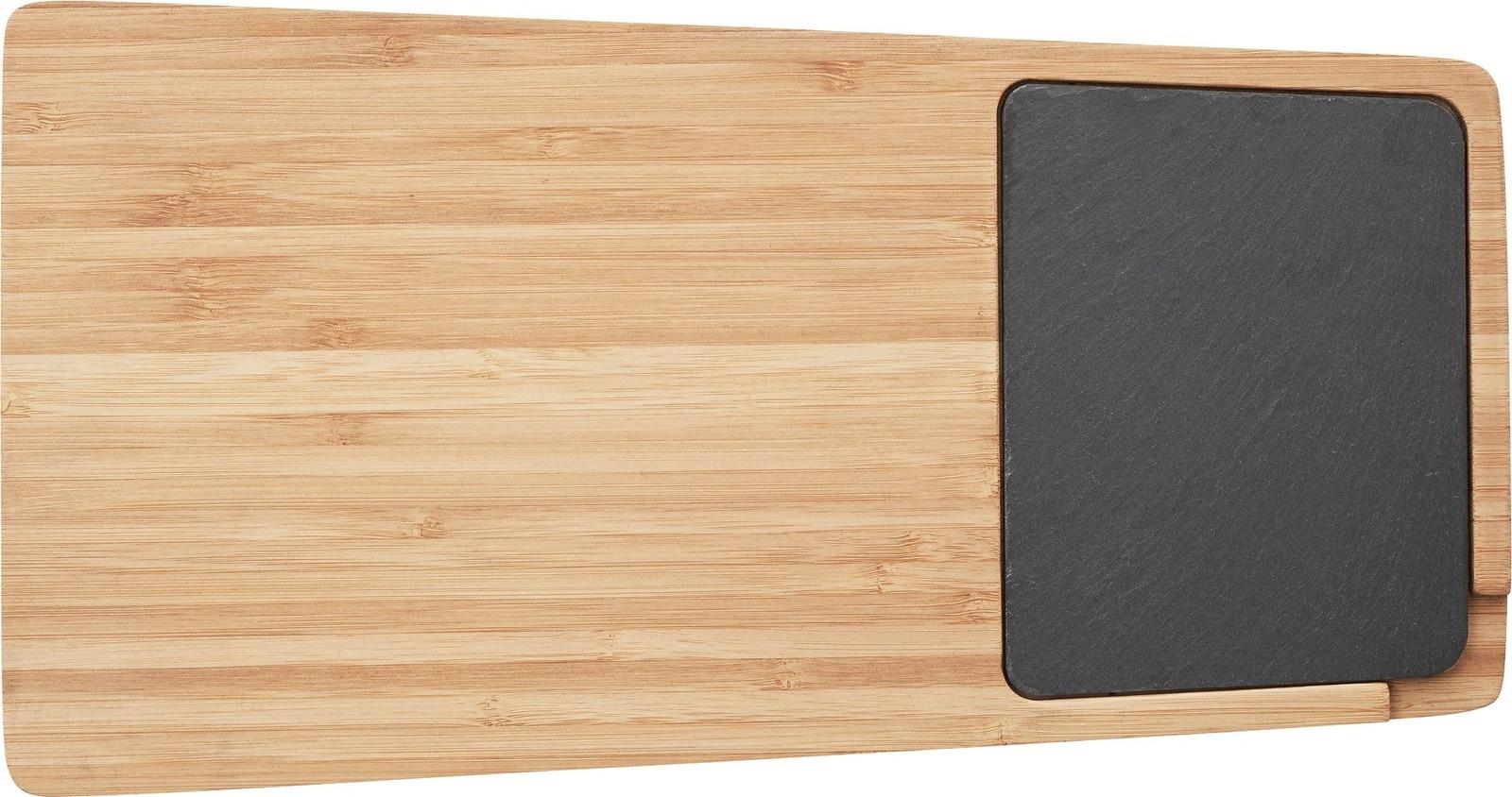 Сервировочный поднос Twin имеет невероятно стильный дизайн, что позволяет ему идеально вписываться в интерьер любого дома. Специальная ставка позволяет использовать поднос для подачи горячих блюд, а деревянная часть идеально подходит для резки продуктов.