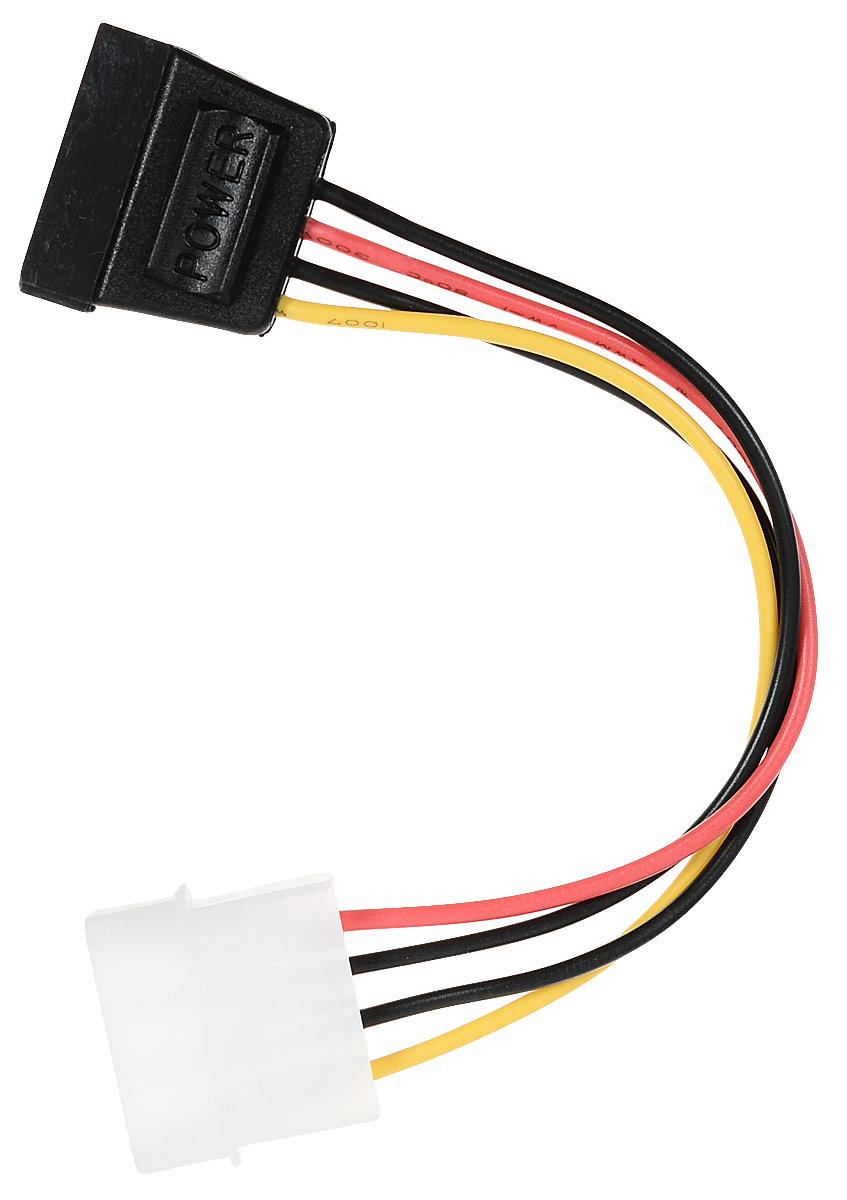 Cablexpert CC-SATA-PS кабель питания SATA molex 4pin/sata 15pin (0,15 м) кабель питания ningbo molex sata