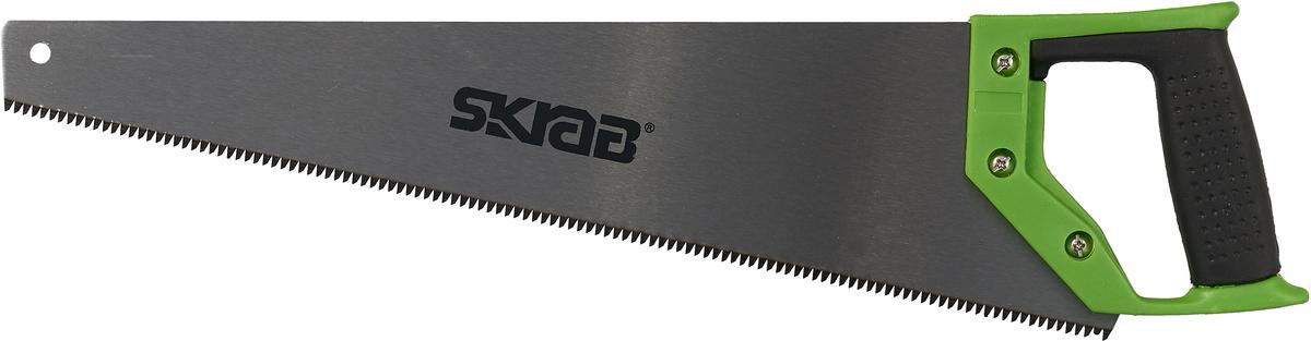 Ножовка по дереву Skrab, каленый зуб Green SK5, 450 мм ножовка по дереву 500 мм unipro 16610u