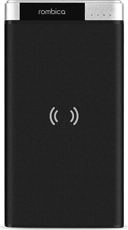 Внешний аккумулятор Rombica NEO PQ10 Wireless, цвет: черный, 10000 мАч внешний аккумулятор rombica neo es70 цвет зеленый 7000 мач