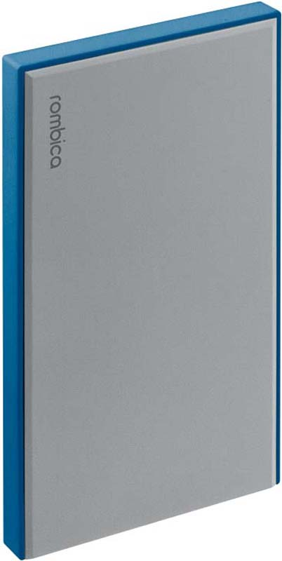 Внешний аккумулятор Rombica NEO NS50B, цвет: синий, 5000 мАч внешний аккумулятор samsung eb pg930bbrgru 5100mah черный