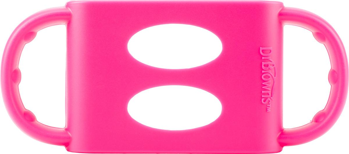 Ручки для бутылочек Dr. Brown's, цвет: розовый. AC008 наборы для кормления dr browns набор из 2 х стандартных бутылочек полипропилен