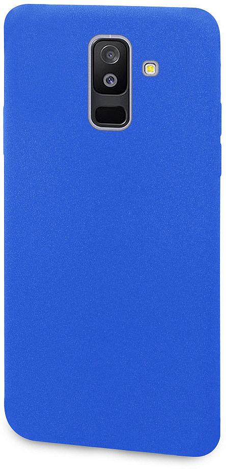 Чехол-накладка для сотового телефона DYP Liquid Pebble для Samsung Galaxy A6+, Blue цена и фото