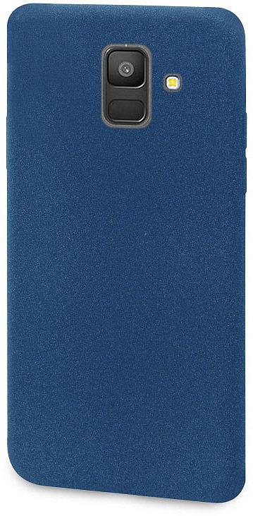 Чехол-накладка для сотового телефона DYP Liquid Pebble для Samsung Galaxy A6, Dark Blue цена и фото