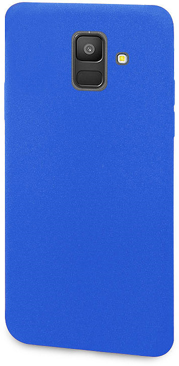 купить Чехол-накладка для сотового телефона DYP Liquid Pebble для Samsung Galaxy A6, Blue по цене 429 рублей