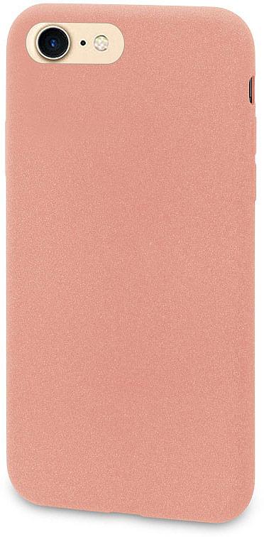 купить Чехол-накладка для сотового телефона DYP Liquid Pebble для Apple iPhone 8, Pink Gold по цене 689 рублей