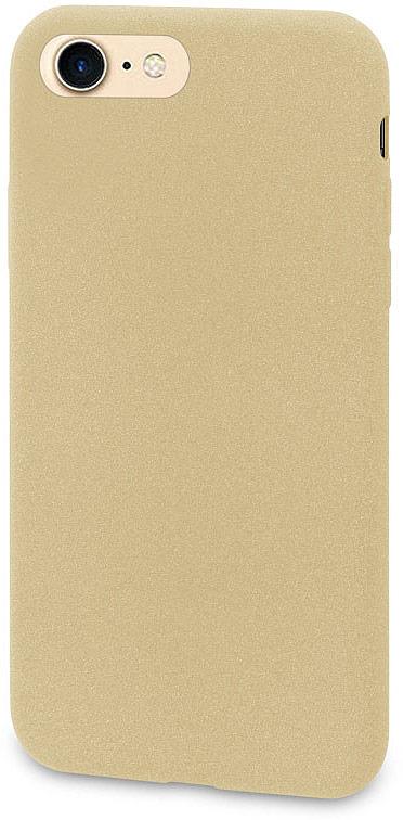 Чехол-накладка для сотового телефона DYP Liquid Pebble для Apple iPhone 8, Gold цена и фото
