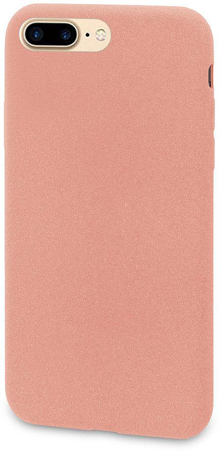 Чехол-накладка для сотового телефона DYP Liquid Pebble для Apple iPhone 8 Plus, Pink Gold цена и фото