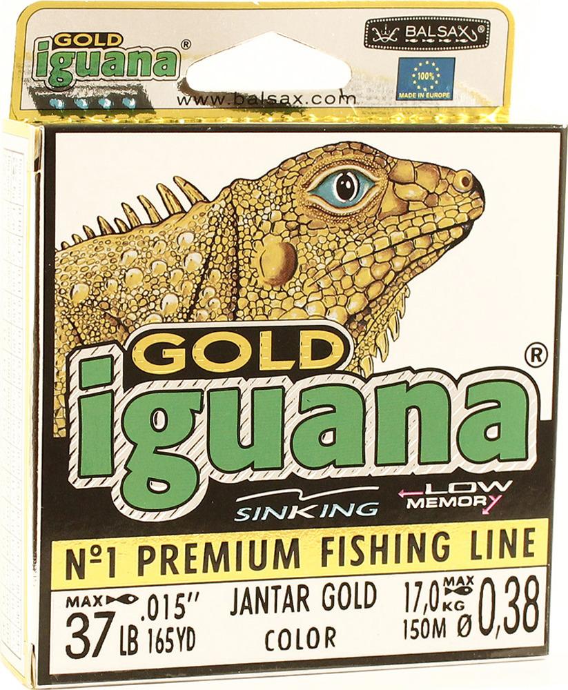 Леска Balsax Iguana Gold, 150 м, 0,38 мм, 17,0 кг