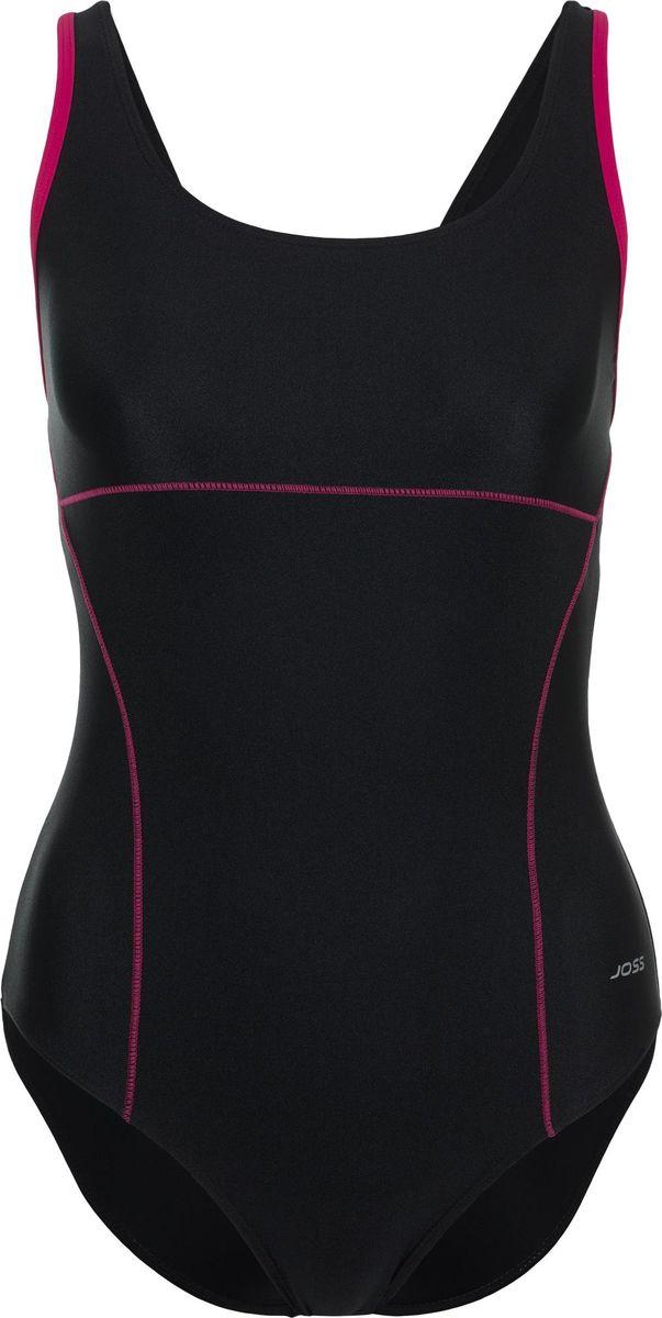 Купальник слитный женский Joss, цвет: черный. S18AJSWSW01-99. Размер 50 joss шлепанцы женские joss fantasy