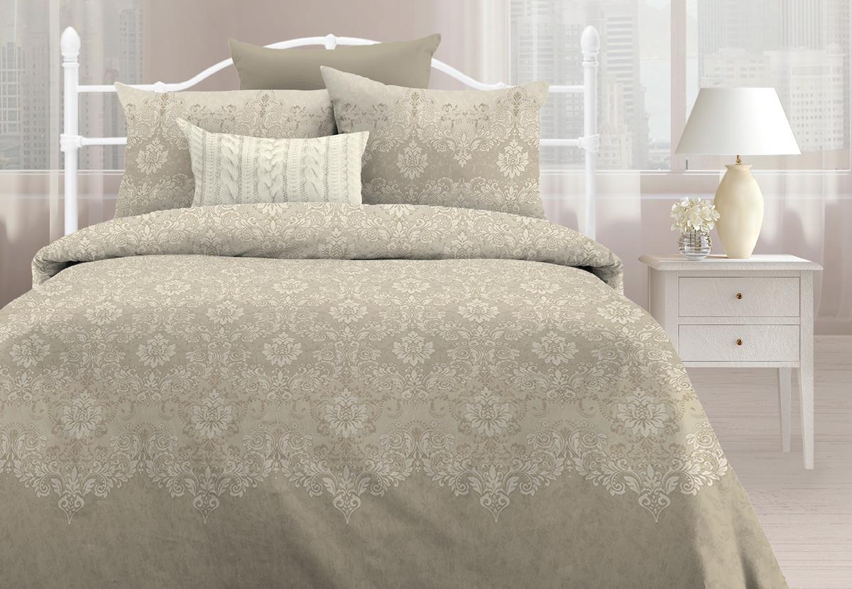 Комплект постельного белья Любимый дом Санти, 1,5 спальное, наволочки 70х70 любимый дом бязь гладиолусы