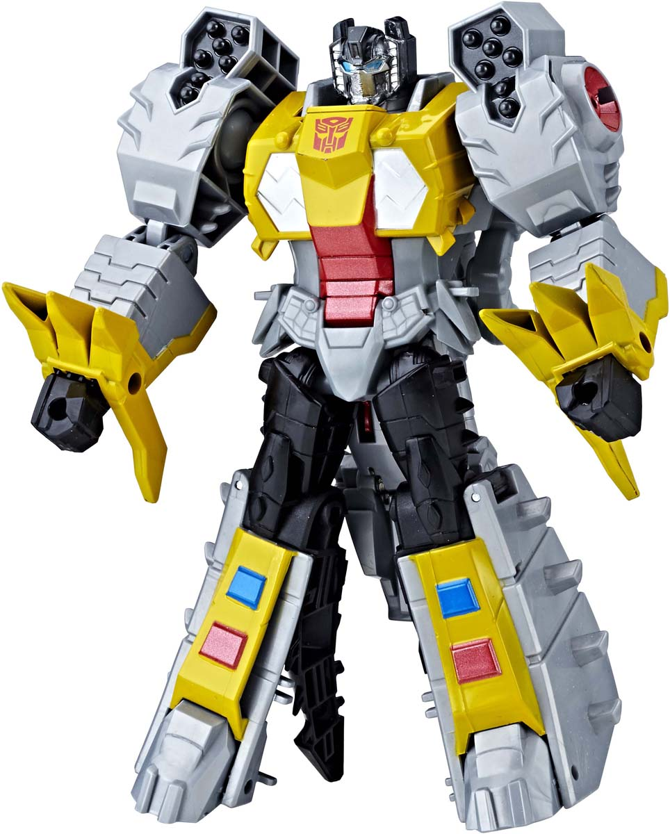 Игрушкатрансформер Transformers Кибервселенная, 19 см. E1886_E1908 transformers трансформер brawl