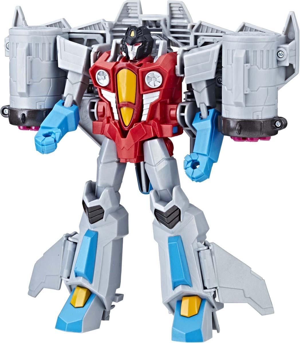 Игрушкатрансформер Transformers Кибервселенная, 19 см. E1886_E1906 transformers трансформер brawl