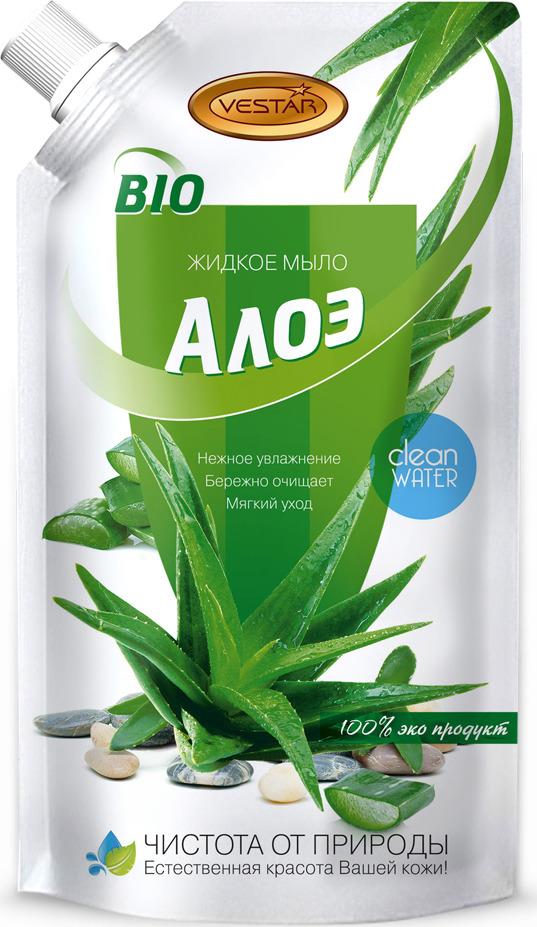 Жидкое мыло Vestar Алоэ , 500 мл organic shop мыло жидкое барбадосское алоэ 500 мл
