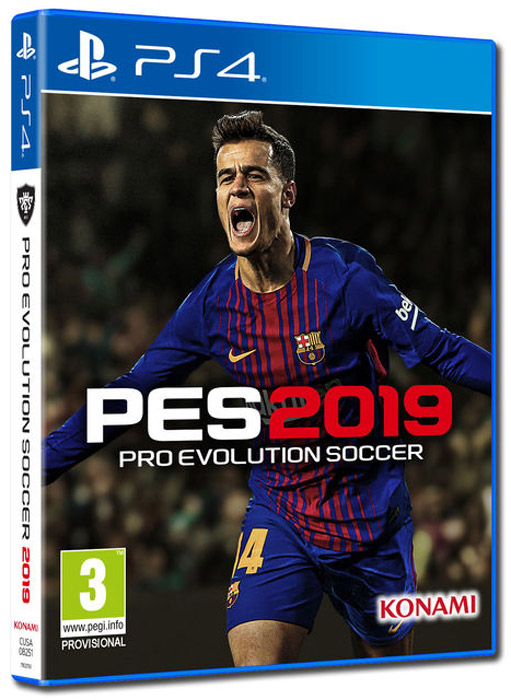 Pro Evolution Soccer 2019 (PS4) цена и фото