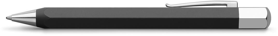 Ручка шариковая Faber-Castell Ondoro Grafit Black, в подарочной коробке ручка шариковая faber castell 241199 черный