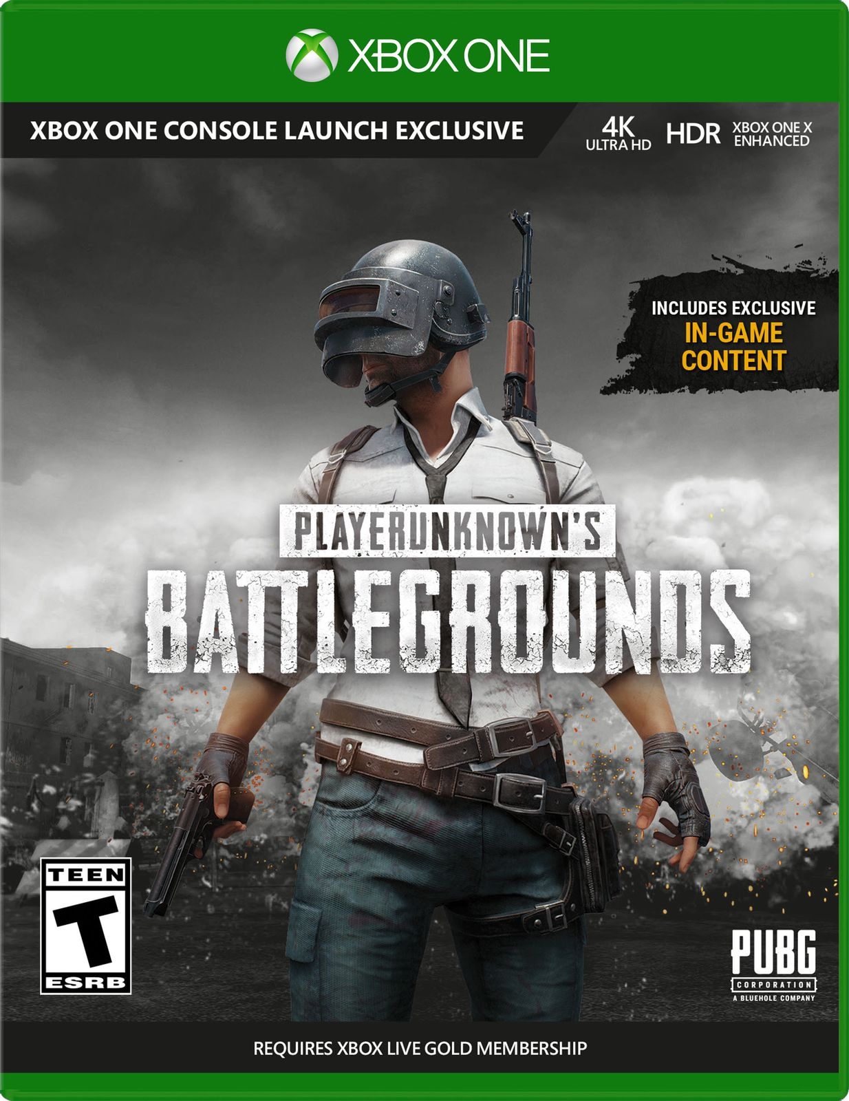 PlayerUnknown's Battlegrounds (Xbox One) игровая консоль microsoft xbox one s 1 тб [234 00311] игра playerunknown s battlegrounds