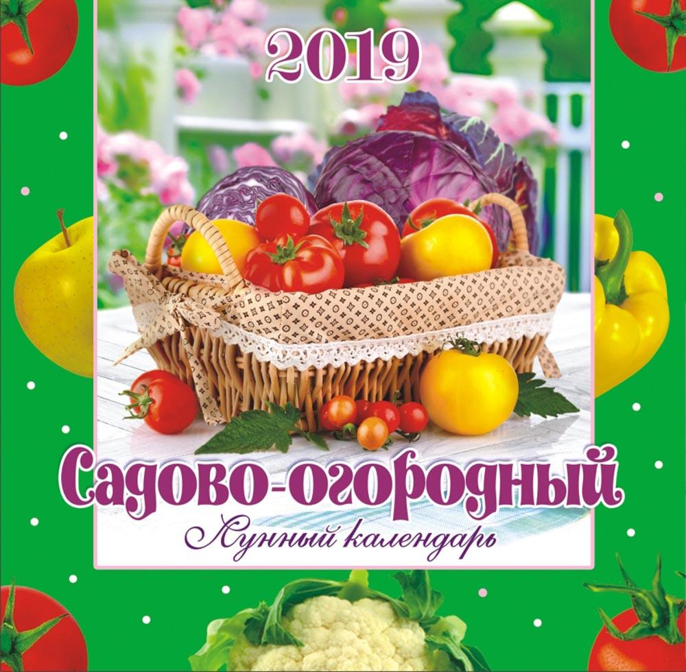 Календарь настенный на 2019 год (на скрепке). Садово-огородный лунный цены онлайн