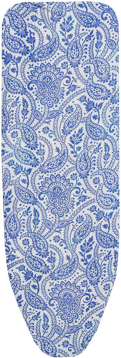 Чехол для гладильной доски Eva, 129 х 45 см цвет: синий чехол для хранения одежды eva цвет синий 60 х 92 см
