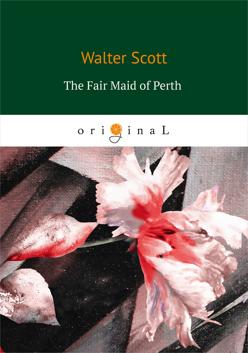 Walter Scott The Fair Maid of Perth platinum natural color 20 inches
