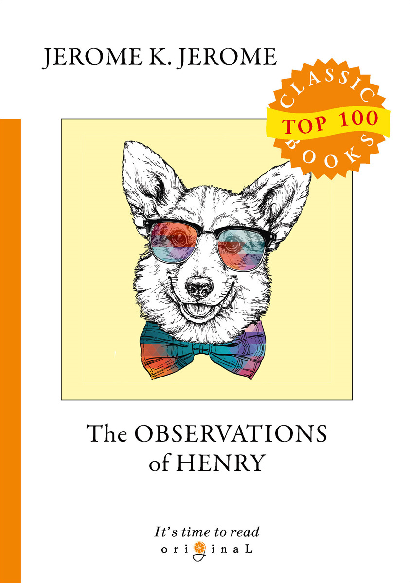 J. K. Jerome The Observations of Henry jerome j sketches in lavender blue and green isbn 9785521070893