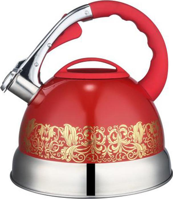 Чайник Winner, со свистком, 3 л. WR-5020 чайник со свистком 3 8 л regent люкс 93 2503b 2