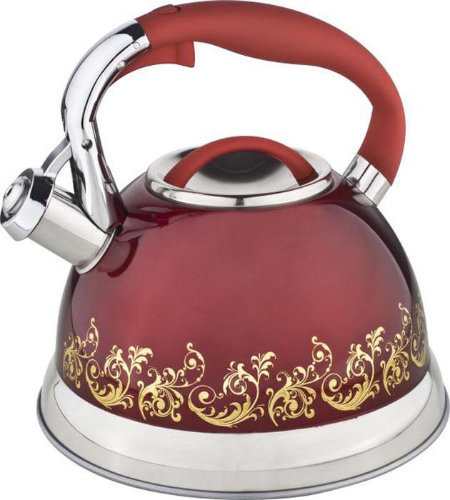 """Чайник """"Winner"""" выполнен из высококачественной нержавеющей стали, что обеспечивает долговечность использования. Нейлоновая фиксированная ручка делает использование чайника очень удобным и безопасным. Капсулированное дно способствует равномерному распространению тепла. Чайник снабжен свистком. Можно мыть в посудомоечной машине. Пригоден для всех видов плит, включая индукционные.Толщина стенки - 0,4 мм.Толщина дна - 4 мм."""