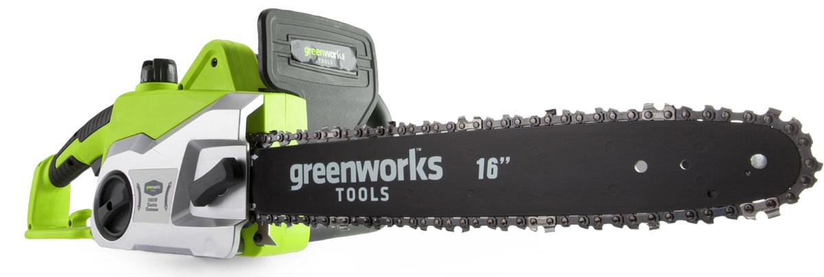 Пила цепная Greenworks GCS1836, 230V. 20217