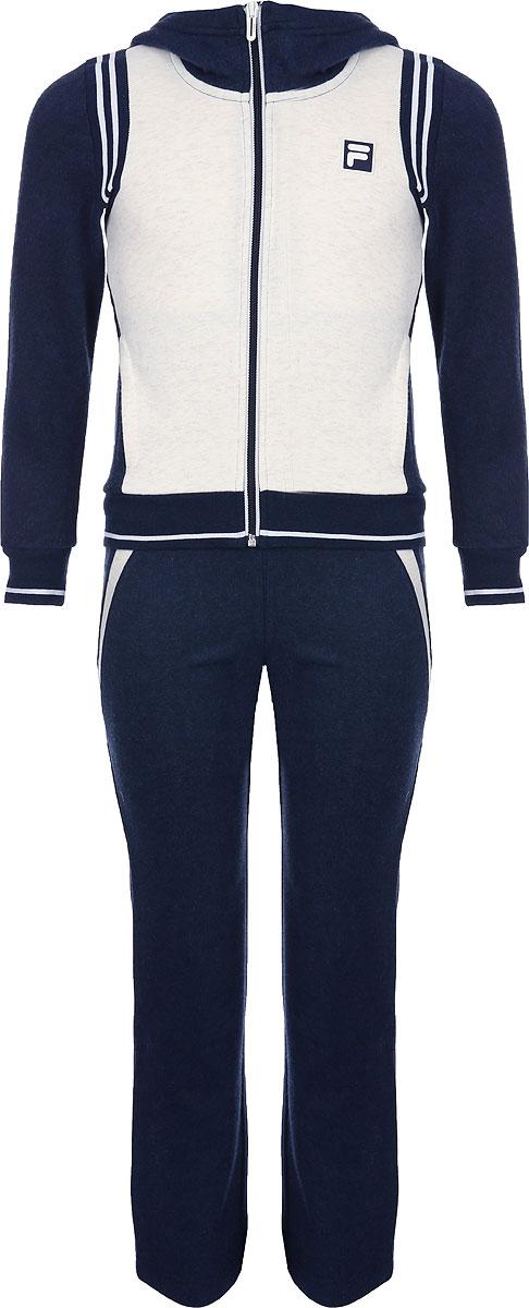 Спортивный костюм для девочки Fila, цвет: синий. A19AFLSUG01-3M. Размер 158 купальник слитный для девочки arina festivita цвет синий gi 011806 af размер 152 158