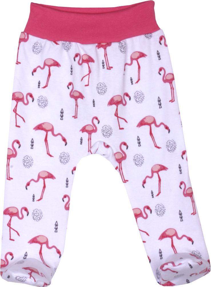 Ползунки детские КотМарКот Фламинго, цвет: светло-розовый. 5219. Размер 80