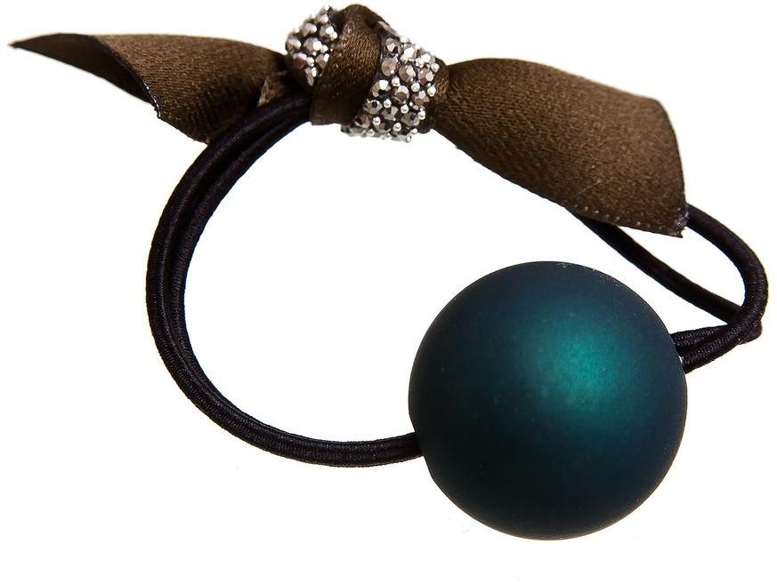 Резинка для волос Aiyony Macie, цвет: зеленый, черный. H802288 u7 широкий браслет часов реального позолоченные моды мужчин украшения оптовой новой модной уникальный 1 5 см 20 см звено цепи браслеты