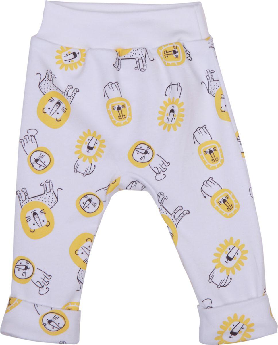 Брюки детские КотМарКот Львенок, цвет: желтый. 5844. Размер 86