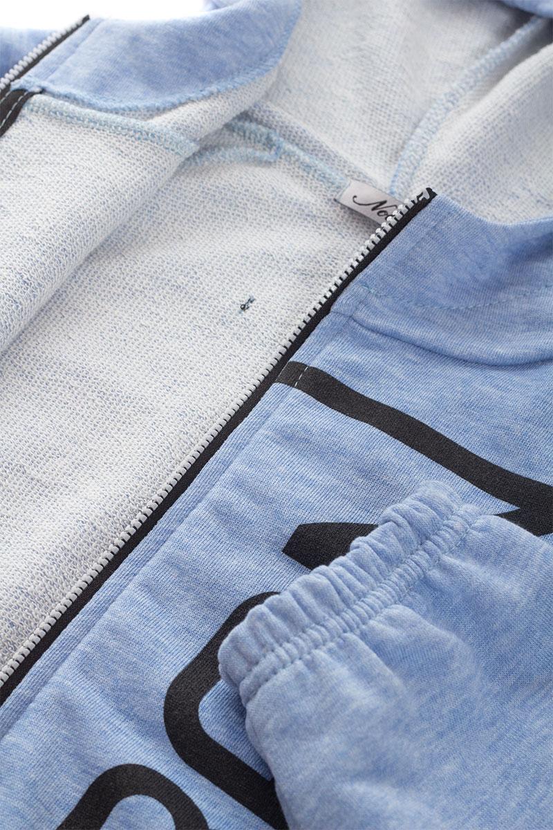 Толстовка для девочки Nota Bene, цвет:  голубой.  181251301_10.  Размер 146 Nota Bene